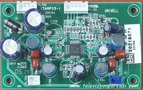 17AMP03-1, SEG LCD-TV 5325, AUDIO BOARD