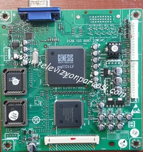 3138 103 6097.2, (WK:04), 3138 158 60461, PHILIPS, MAIN BOARD