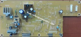PE0373, V28A00050501, TOSHIBA 42A300P, POWER BOARD