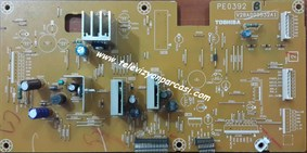 PE0392, V28A000532A1, TOSHIBA 42C3500P, POWER BOARD