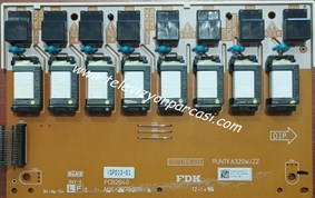 RUNTKA320WJZZ, PCB2840, SHARP LC-42X20E, INVERTER BOARD